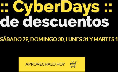 CyberDays de Descuentos - S�bado 29, Domingo 30, Lunes 31 de Octubre y Martes 1 de Noviembre